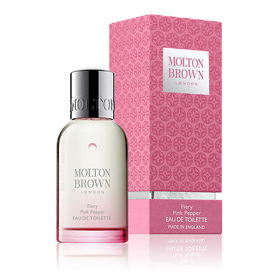 Molton Brown Fiery Pink Pepper 50ml Eau de Toilette Spray Perfume Gift for Women