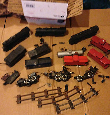 Vintage Train Parts For American Flyer/more Steam Punk Ect #4