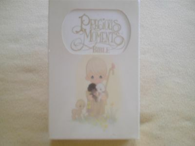 Precious Moments Bible King James In Box  Mint In Box Child's  Edition 1985