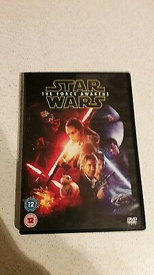 Star Wars the Force Awakens Dvd (2016)