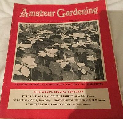 Amateur Gardening Magazine Fri 25 Dec 1953 Lovely Christmas Present