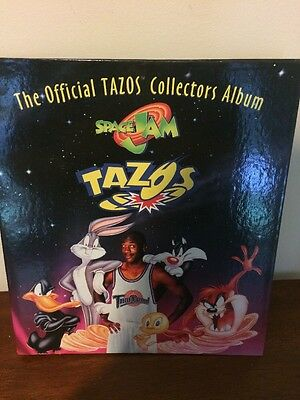 The Official Tazos Collectors Album with 33 Tazo Discs