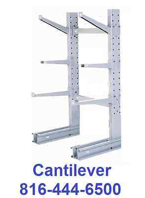 cantilever upright 12' tower single sided lumber shelving all sizes NEW