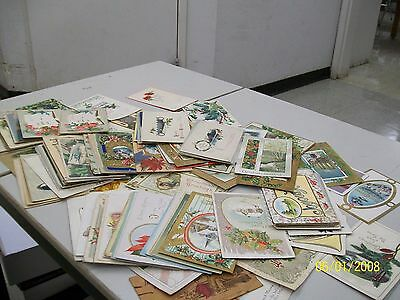 Nice Lot Of 123 Vintage Greeting Post Cards
