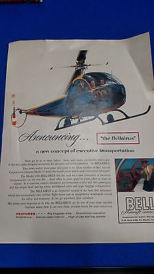 Bell Helicopter Aircraft Cooperation Advertisement