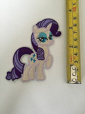 1 Embroidered My Little Pony Rarity!iron On Sew On Patch Clothes Craft