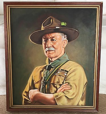 Lord BADEN-POWELL of Gilwell - Painting by David Jagger, 1929