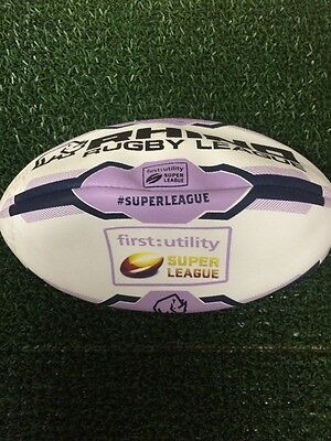 Rhino Rugby League Match Ball Vortex XIII First Utility Super League Rrp 49.99