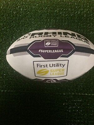 Rhino Rugby League Super League Official Match Ball Size 5