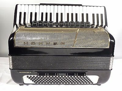 Hohner Imperator Iv Akkordeon  Cassotto  120/4    1A Accordion     Serviced !