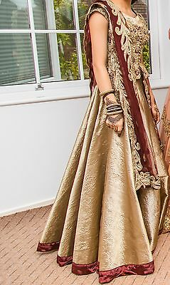 Indian Wedding outfit/pakistani Outfit/asian Wedding/skirt And Top In Size 6