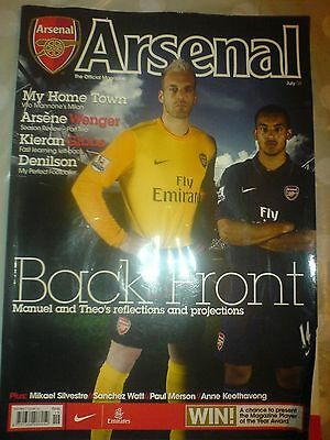 Official Arsenal Magazine July 2009