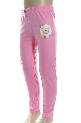 Pantaloni Leggings Bambina Disney Frozen Rosa 5 Anni Disponibili Leggins