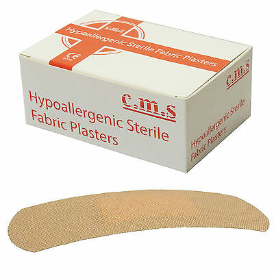 CMS Medical Flexible Fabric Premium 100 Large 2.5cm First Aid Dressing Plasters
