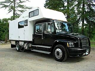 2001 Freightliner FL70 With Camper