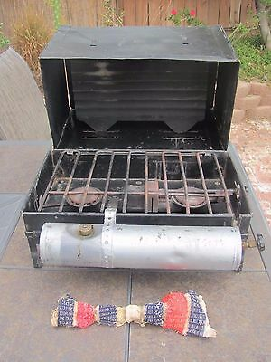 Rare 1931-34 Coleman Model 2E  stove w/oven in good-very good solid condition