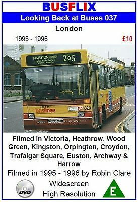 Looking Back at Buses 37 London 1995 - 1996