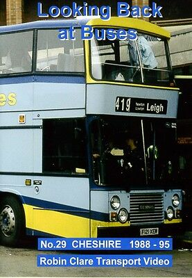 Looking Back at Buses 29 Cheshire 1988 - 1995