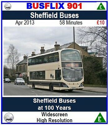 Busflix Films BF 901 Sheffield Buses at 100 Years. Apr 2013