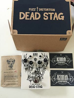 KMA Dead Stag Distortion effects pedal
