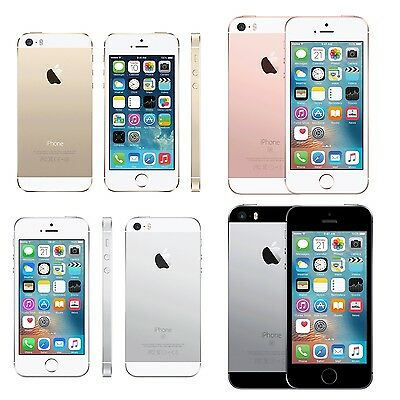 Apple iPhone SE (T-mobile) SmartPhone 16GB 64GB Gold Space Gray Silver Rose