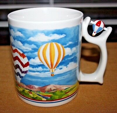 Talus SPINNERS Coffee Cup HOT AIR BALLOONS, Very Colorful