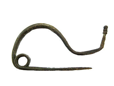 EXTREMELY RARE CELTIC Trumpet Bronze FIBULAE from LA TENE PERIOD!!!