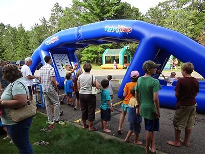 Water Wars Inflatable manufactured by Bounceabouts Leisure. Good Condition.