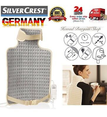 Silvercrest Neck & Back heat pad with 6 heat settings & Automatic power off