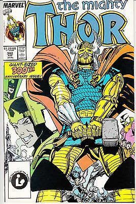 Thor #382 (Aug 1987, Marvel) 300th Anniversary Issue