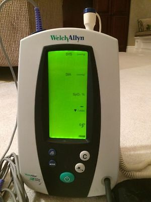Welch Allyn 420 Series Vital Signs Monitor (Complete &Tested)