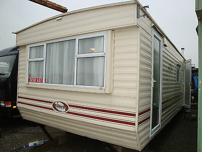 MOBILE STATIC CARAVAN FOR SALE,28ft X10ft, 2 BEDROOMS