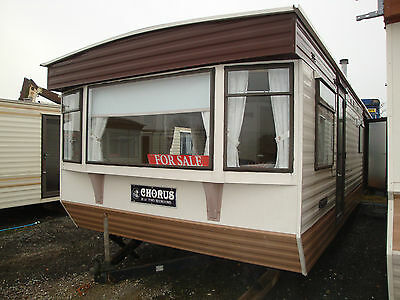 MOBILE STATIC CARAVAN FOR SALE,28ft X10ft, 2 BEDROOMS,