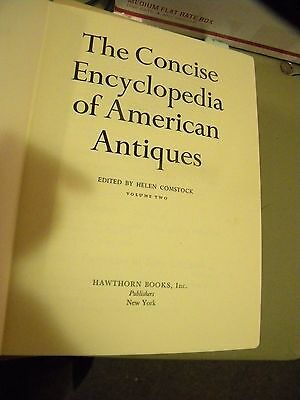 Vol 1&2 Concise Encyclopedia of American Antiques