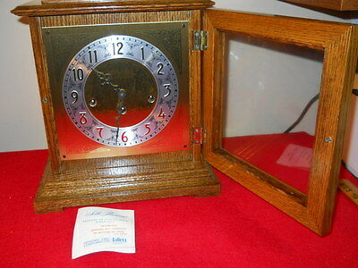 1988 Seth Thomas Westminster 8 Day Bracket Clock- New Old Stock, Never Opened!!