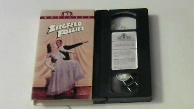 ZIEGFELD FOLLIES VHS Astaire,Ball, Bremer 1946 COLLECTABLE OOP EXCELLENT COLOR