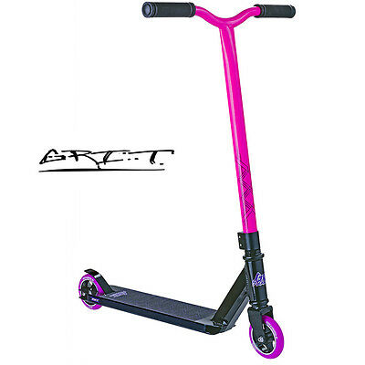 2015 GRIT Extremist Complete Scooter PINK/BLACK - FREE DELIVERY