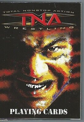"""2007 New Sealed """"tna Impact Wrestling 52 Playing Card Box"""" Full Deck"""