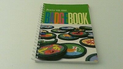 Junior Girl Scout  Badge Book Spiral 2001