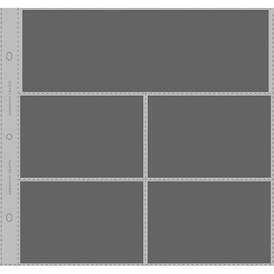 "American Crafts Top-Loading Page Protectors 12""X12"" 10/Pkg (1) 12""X4"" & (4) 6..."