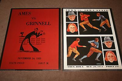 Iowa State Cyclones Vintage Game Day Football Posters