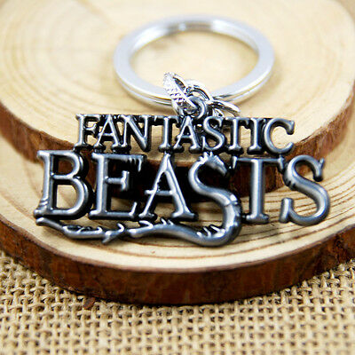 Fantastic Beasts and Where to Find Them Letter Logo Keychain