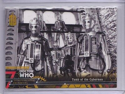 2016 Topps Doctor Who Encounters Tomb of the Cybermen Gold 1/1