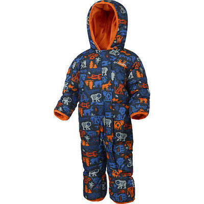 Columbia Snuggly Bunny Bunting Toddler Kids Jacket Snowsuit - Marine Blue
