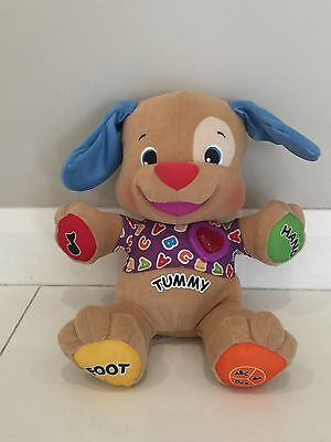 Fisher Price Laugh N Learn Love Play Musical Puppy dog