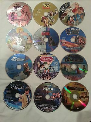 DISNEY - DVD Lot  Choose For As Low As $2.99 + Each - Discs Only No Artwork