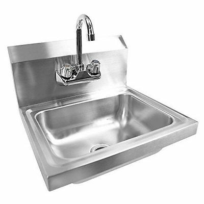 Gridmann Commercial NSF Stainless Steel Sink -NEW- Wall Mount Hand Washing Basin