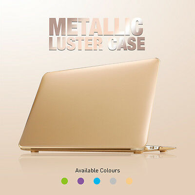 Macbook Air, Pro Retina Hard Metallic Cover for Apple with Keyboard Case