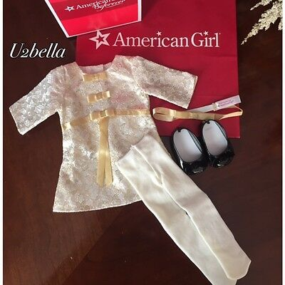 American Girl Melody's Christmas Dress Outfit for Dolls NEW IN BOX