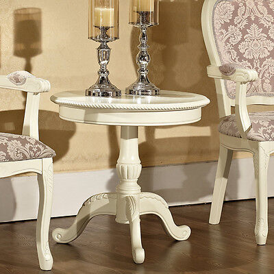 Brand New French Provincial Wooden Coffee High Tea Side Lamp Bar Table Vintage